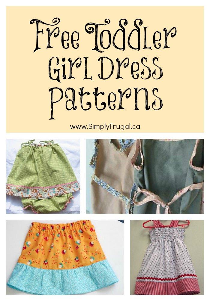 Free Toddler Girl Dress patterns