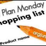 Menu Plan Monday – Week of July 27, 2009