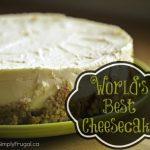 World's Best Cheesecake Recipe