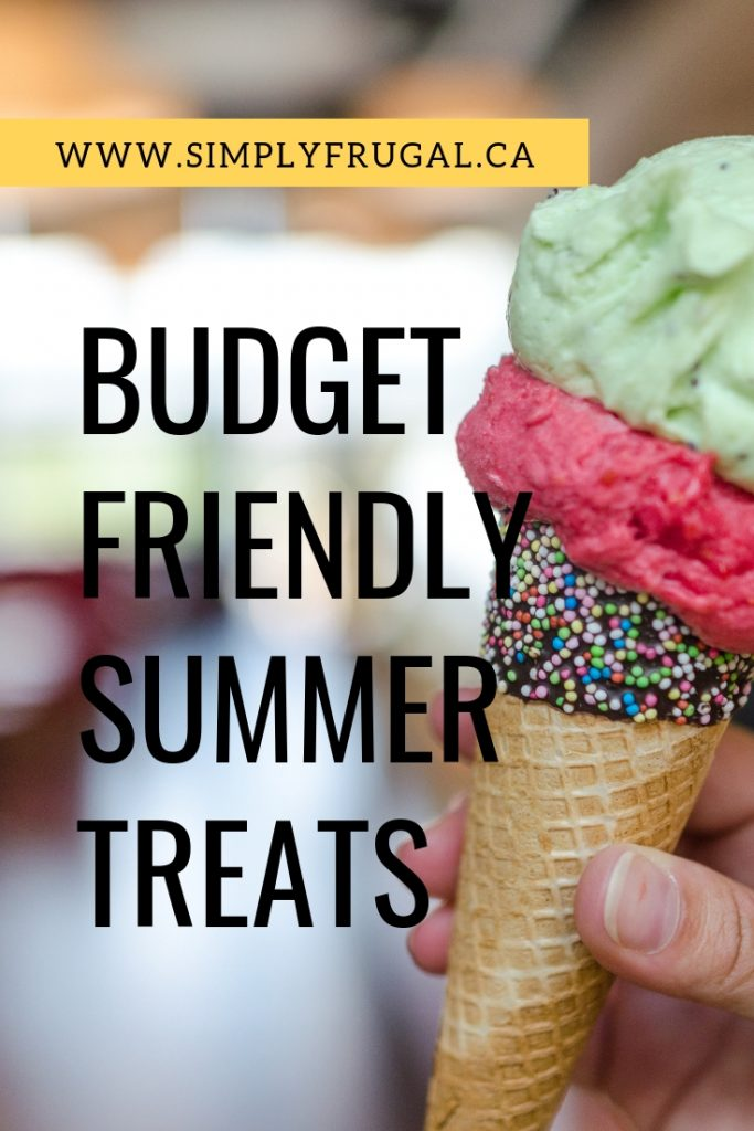 You can keep your diet and your budget on track with simple summer treats and a do-it-yourself attitude!