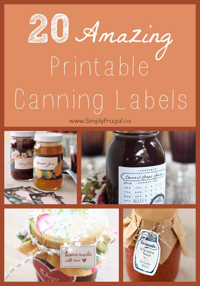 20 amazing printable canning labels freeprintables canning preserving labels