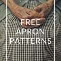 Free Apron Patterns, Free sewing patterns