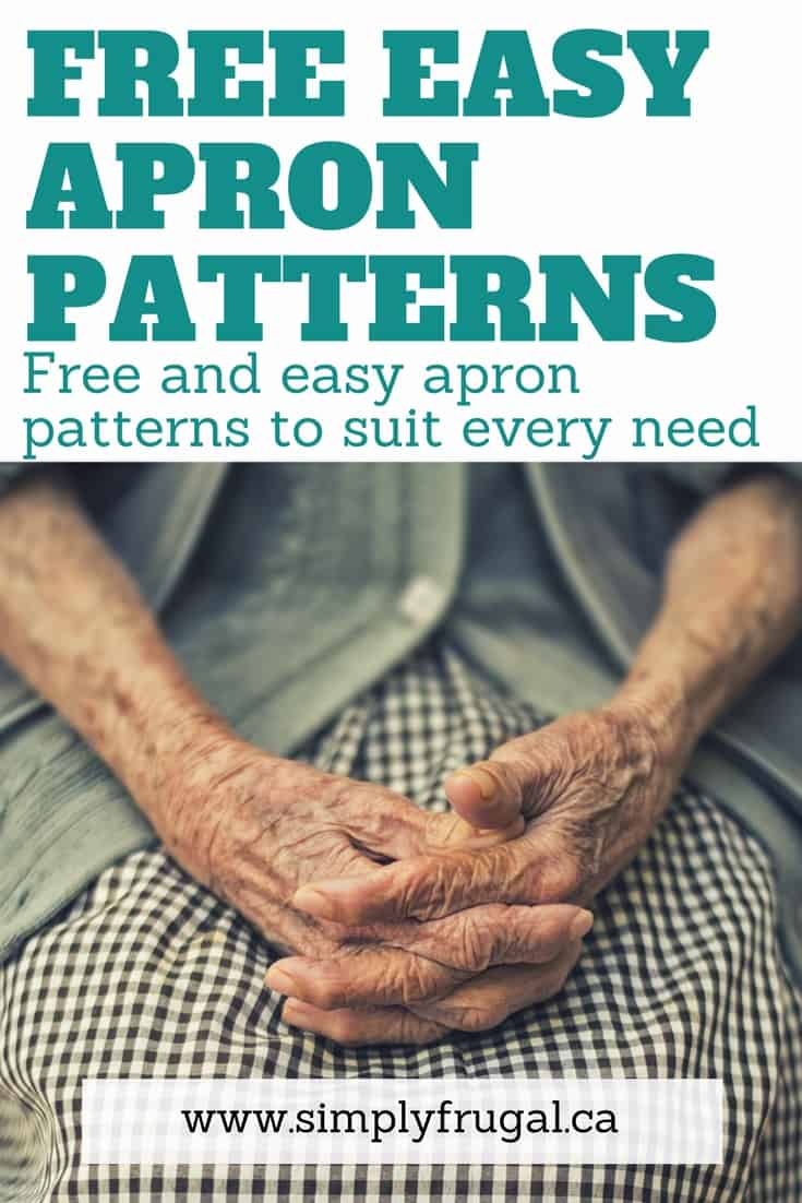 Free easy apron patterns, free easy sewing patterns