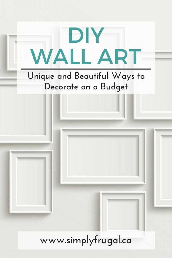 Diy wall art unique and beautiful ways to decorate on a Decorate a large wall cheaply