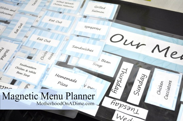 magnetic-menu-planner