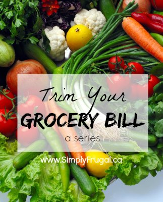 Trim your grocery bill