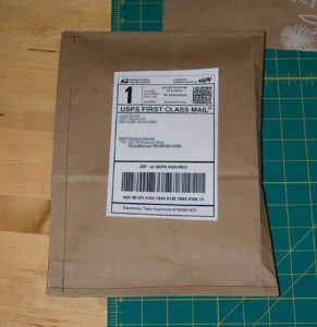DIY Shipping Envelope