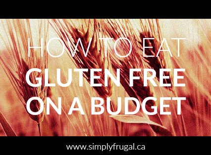 Eating a gluten free diet is not the most budget friendly diet to be on. But here are some useful tips to help you stay healthy and eating well on a gluten free diet.