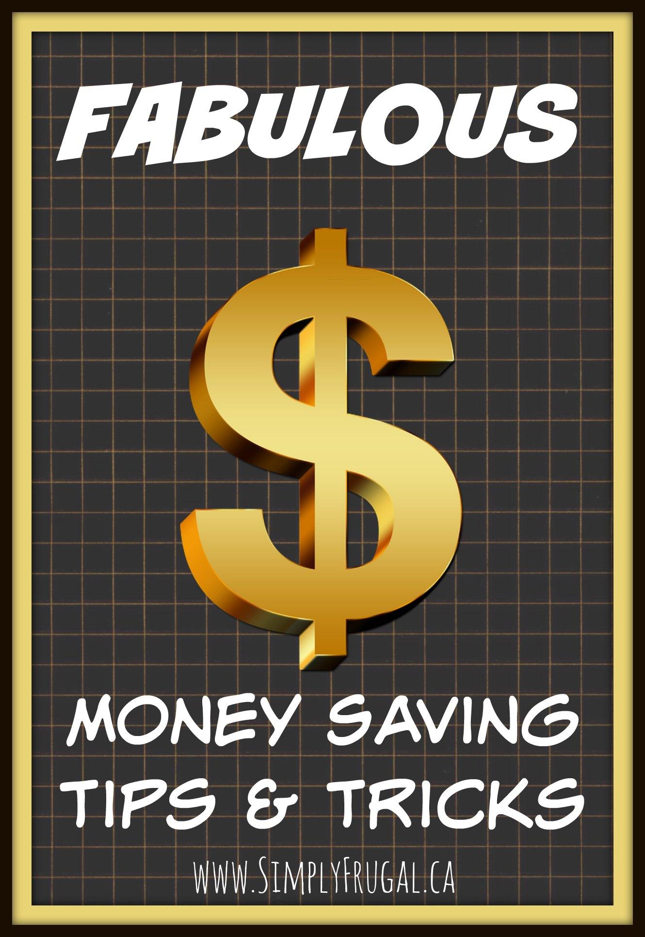 Money saving tips & tricks