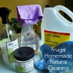 Frugal Homemade Natural Cleaning Supplies