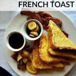 Here's a classic, Easy French Toast recipe with a secret ingredient that makes them perfectly fluffy! One of our family's favorite breakfasts!