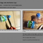 DIY Project – Seal Plastic Bags with Old Bottle Caps