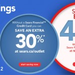 Sears Canada – Save up to an Extra 40% off in the Outlet