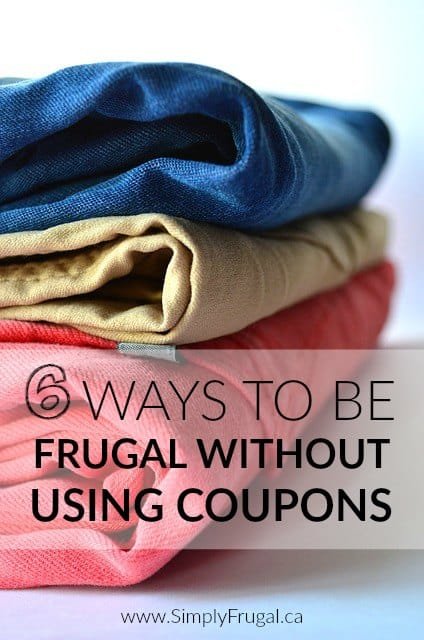 6 Ways to Be Frugal Without Using Coupons