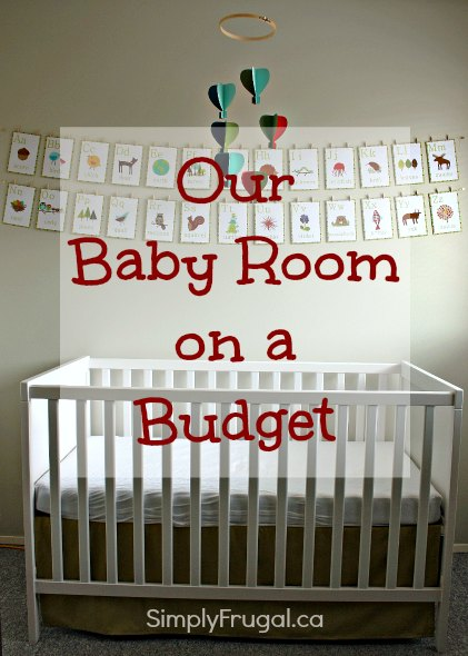 baby room on a budget