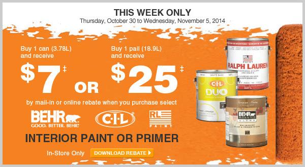 home depot paint