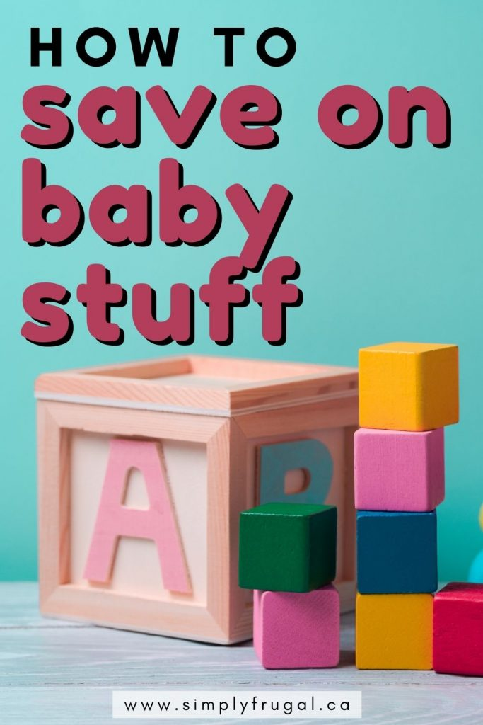 If you're like most parents, it's likely that you are wanting to save on baby stuff! Here are 3 easy ways to save money on items for your new baby.