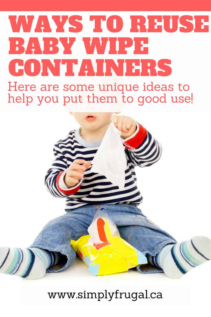 Don't throw out your empty wipes containers yet! Take a look at these 11 unique ways to reuse baby wipe containers that you're sure to love.
