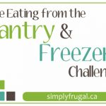 Join in on the Eating from the Pantry/Freezer Challenge!