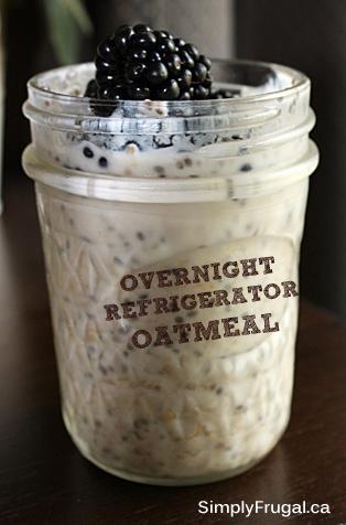 Overnight Refrigerator Oatmeal