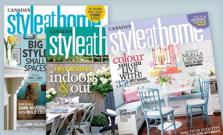 Style at Home magazine deal