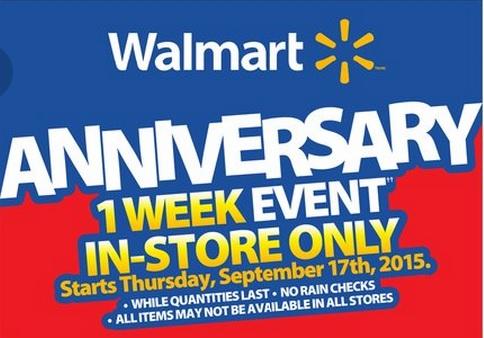 walmart anniversary sale