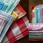 A Homemade Christmas Gift: Gingham Placemats