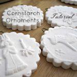 Easy DIY: Cornstarch Christmas Ornaments