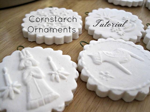 Easy Diy Cornstarch Christmas Ornaments