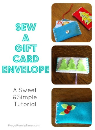 How to Make a Gift Card Envelope Final