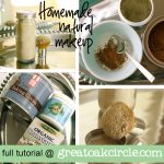 A Homemade Christmas Gift: Homemade Natural Makeup