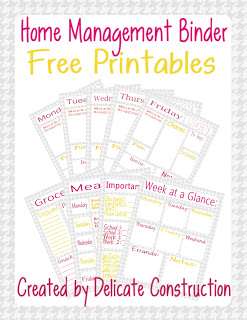 10 free resources to help you get organized for Home construction binder