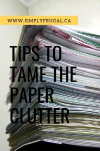 Drowning in paper clutter? Or feeling overwhelmed not knowing how to deal with everything?  Here are some tips on how to rescue your home and your sanity from the piles of paper that surround you.