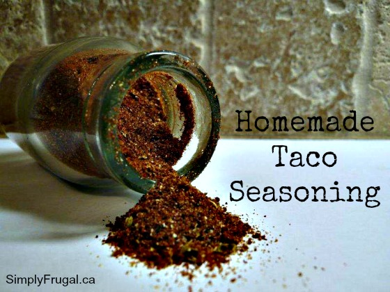 This homemade taco seasoning recipe is a must-try for any taco night. You'll want to have it on hand all the time! It's also really easy on the budget.