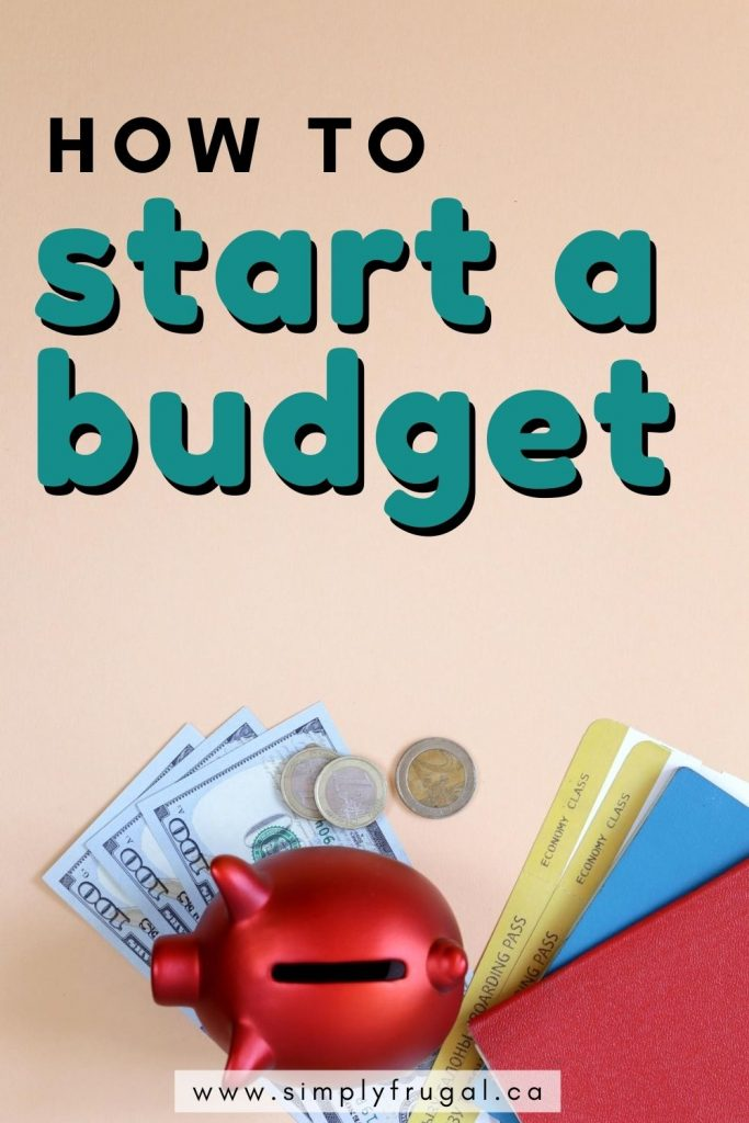 Budgeting can be overwhelming but it doesn't have to be if you plan it out with this step by step process. Here's how to start a budget.