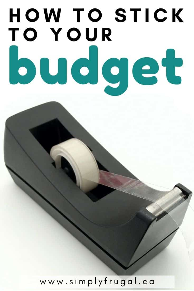 How to stick to your budget. Budgeting tips #budgettips #moneytips #budget