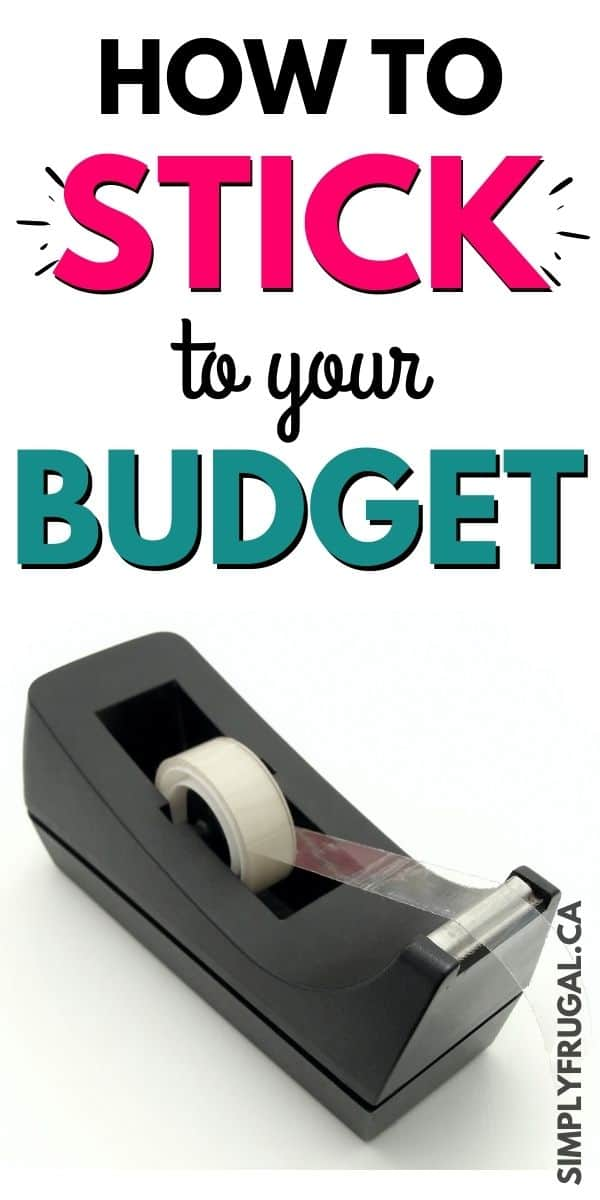 How to stick to your budget. These are some fantastic budgeting tips to make sticking to a budget easier!