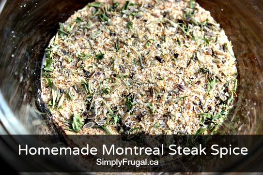 Homemade Montreal Steak Spice