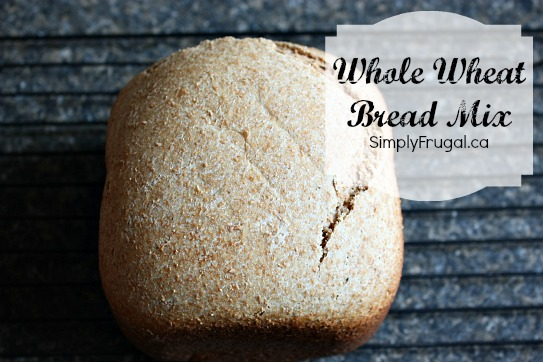 Homemade Bread Mix