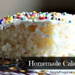 March Mixes – Homemade Cake Mix