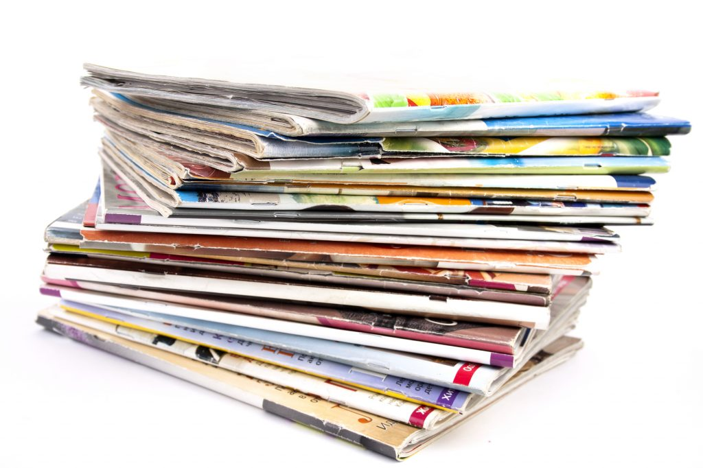 Uses for old magazines