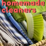 This post has some great recipes to help you clean your entire house with homemade cleaners!