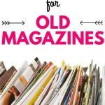 You've got to check out this list of genius ideas on ways to reuse your old magazines. There are some creative ideas for crafts, gift giving and more! #reuse #upcycle #magazines #recycle #papercrafts #crafts