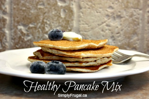 Healthy pancake mix recipe