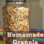 March Mixes – Homemade Granola