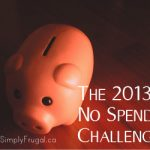 No Spend Challenge – Resisting The Desire to Buy