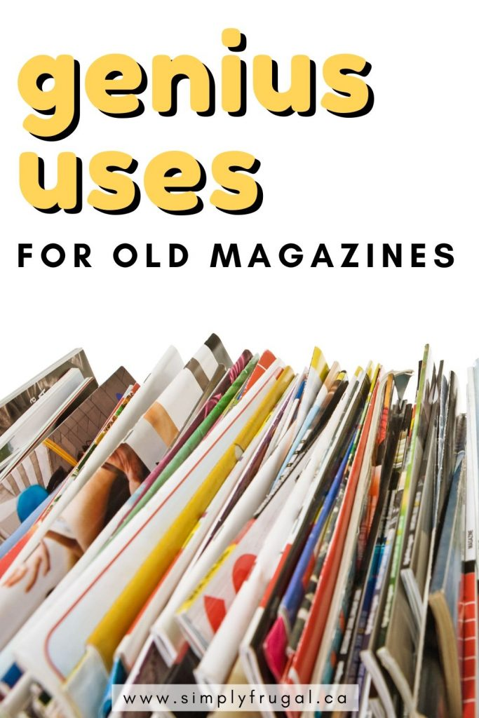 You've got to check out this list of genius ideas on ways to reuse your old magazines! #reuse #upcycle #magazines #recycle #papercrafts #crafts
