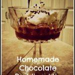 Homemade Pudding Mix