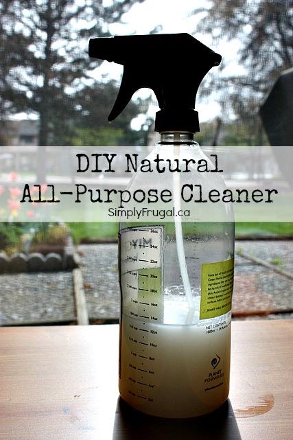 DIY Natural All-Purpose Cleaner