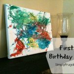 First Birthday Art